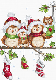 The Owls Christmas Crafts Kit By Luca s