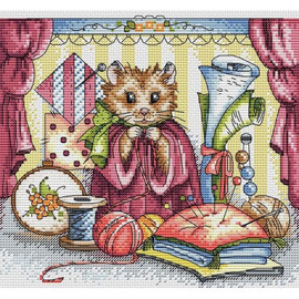 Needleworkers Haven Cross Stitch Kit By MP Studia