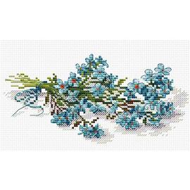 Flower Beauty Cross Stitch Kit By MP Studia