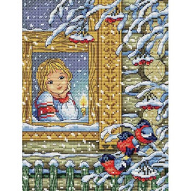 Winters Evening Cross Stitch Kit By MP Studia