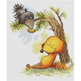 Relaxing Cross Stitch Kit By MP Studia