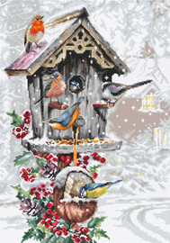 Bird House Counted Cross Stitch Kit By Luca S