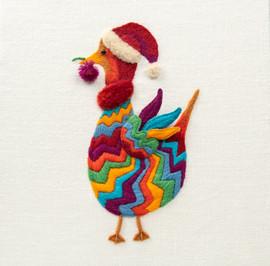 Michaelmas Goose Embroidery Kit by Appleton