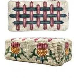 Scottish Thistle Doorstop Tapestry Kit by Fiona Wemyss