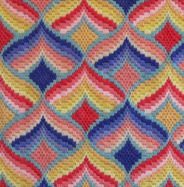 The Bargello Sisters Ice Cream Tapestry Kit By Appleton