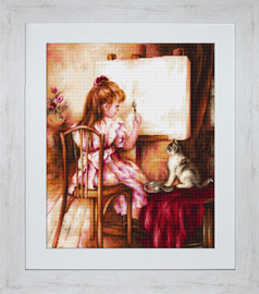 Artist and Model Petit Point Kit by Luca S