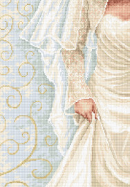 The Bride Counted Cross Stitch Kit by Luca-S