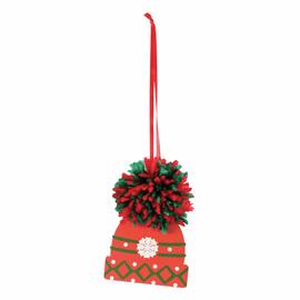 Pom Pom Decoration Kit: Woolly Hat By Trimmits