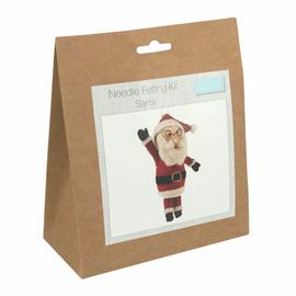 Needle Felting Kit: Santa By Trimits