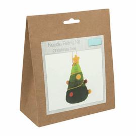 Needle Felting Kit: Christmas Tree By Trimits