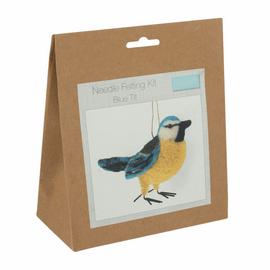 Needle Felting Kit: Blue Tit By Trimits