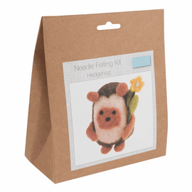 Needle Felting Kit: Hedgehog By Trimits