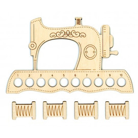 Sewing Machine Thread Organiser With 4 Spools By MP Studia
