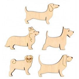 Set of 10 Dog Thread Organisers By MP Studia