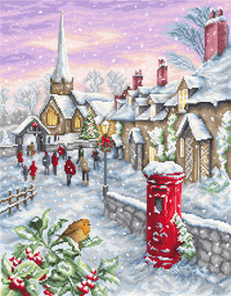 Christmas Eve Counted Cross Stitch Kit By Luca S
