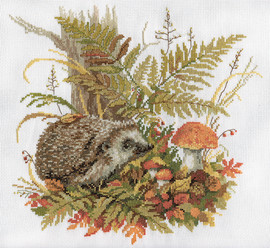 Quiet Forager Counted Cross Stitch Kit By Panna