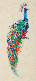 Peafowl Counted Cross Stitch Kit By Panna
