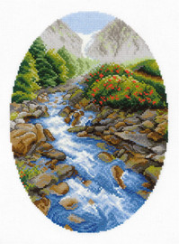 Upstream Counted Cross Stitch Kit By Riolis