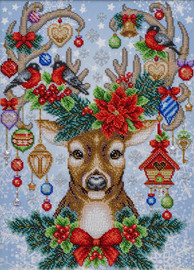 Festive Comforts Beaded Embroidery Kit By VDV