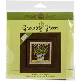 Growing Green Counted Cross Stitch Kit By Mill Hill