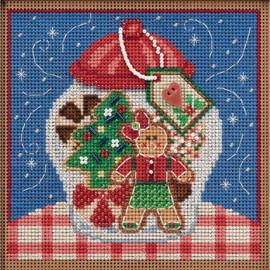 Cookie jar cross stitch kit by Mill Hill