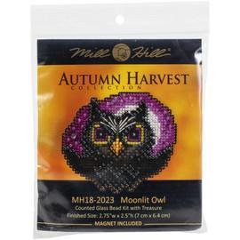 Moonlit Owl Cross Stitch Kit by Mill Hill