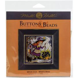 Witch's Brew Cross Stitch Kit by Mill Hill