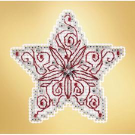 Filigree Star glass bead kit by Mill Hill
