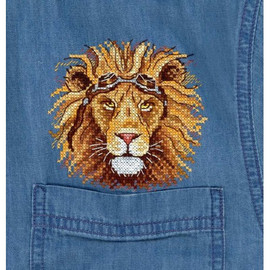 King Of The Road Cross Stitch Kit On Water Soluble Canvas By MP Studia