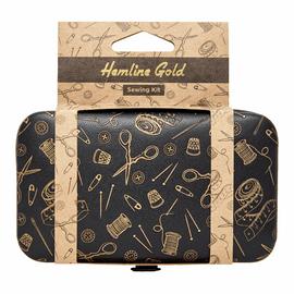 Sewing Kit: Hemline Gold Notions Print