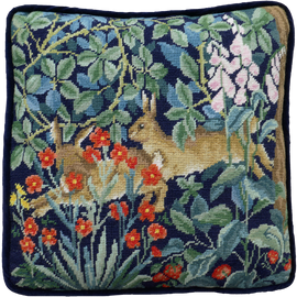 Greenery Hares Tapestry By William Morris Tapestry