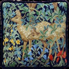 Greenery Deer Tapestry By William Morris