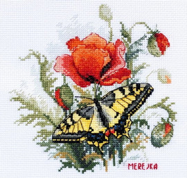 Summer Meadow Counted Cross Stitch Kit By Merejka