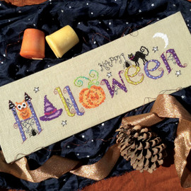 Halloween Cross Stitch Chart only by Nia
