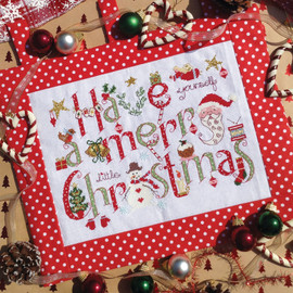 Have yourself a Merry Little Christmas Cross stitch Chart only By Nia
