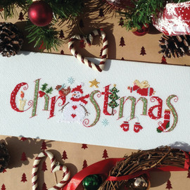 Christmas cross Stitch Chart only By Nia