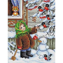 Winter Walk Cross Stitch Kit By MP Studia