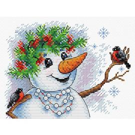 Snow Story Cross Stitch Kit By MP Studia