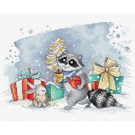 On Christmas Eve Cross Stitch Kit By MP Studia