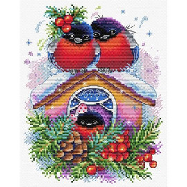 Winter House Cross Stitch Kit By MP Studia