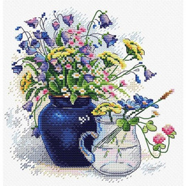 Bouquet Cross Stitch Kit By MP Studia