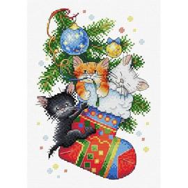 New Year Gift Cross Stitch Kit By MP Studia