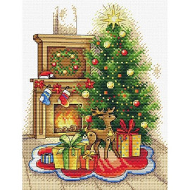 Christmas Party Cross Stitch Kit By MP Studia