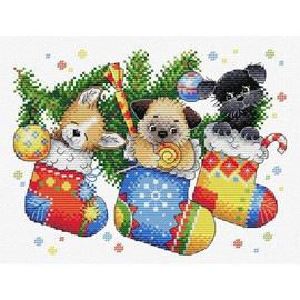 New Years Surprise Cross Stitch Kit By MP Studia