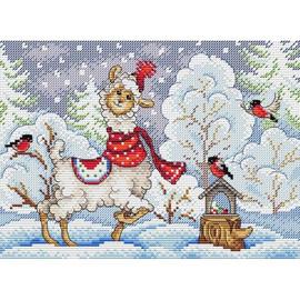Winters Evening (2) Cross Stitch Kit By MP Studia