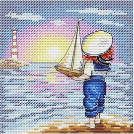 The Long Journey Cross Stitch Kit By MP Studia