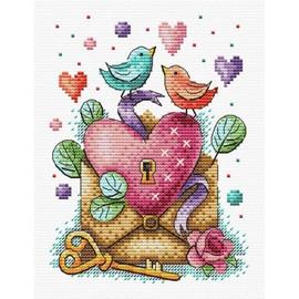 Valentines Day Cross Stitch Kit By MP Studia