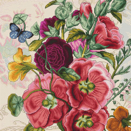 Summer Flowers Counted Cross Stitch Kit By Luca-S