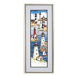 Lighthouses Counted Cross Stitch Kit By Janlynn