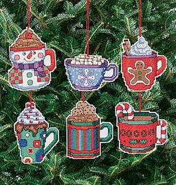 Christmas Cocoa Mug Tree Ornaments Kit By Janlynn